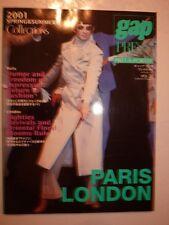 Magazine Revue mode fashion Gap Press collections Pret à Porter Gap Japan #32