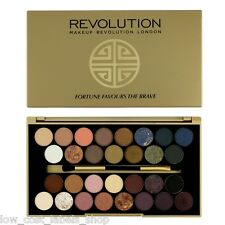 MAKEUP REVOLUTION Eyeshadow Platte With Brush Fortune Favours The Brave