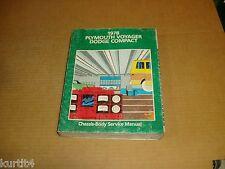 1978 Dodge Sportsman Van Wagon Plymouth Voyager B150 B250 service shop manual
