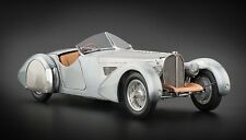 1938 BUGATTI 57 SC CORSICA UNPAINTED CLEAR VERSION LTD TO 1000PC 1/18 BY CMC 134