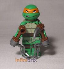Lego Michelangelo from set 79104 Shellraiser Street Chase Ninja Turtle tnt003