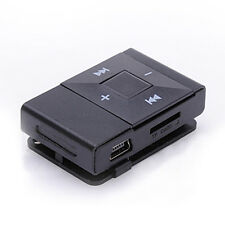 Hot Sale Mini USB Clip Digital Mp3 Music Player Support 8GB SD TF Card Black