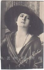 FRANCESCA BERTINI 24 ATTRICE CINEMA MUTO SILENT MOVIE - CAPPELLO Cartolina FOTOG
