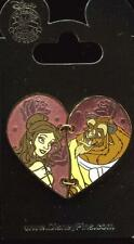 Beauty and The Beast Belle Beast Two Piece Heart Disney Pin 113566