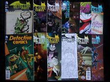 Big Batman Detective Comics Variant Issue Lot (2014) New 52  VF/NM