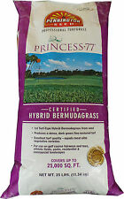 Pennington Princess 77 Bermuda Grass Seed ( Certified ) 25 Lbs - 25,000 Sq.ft.