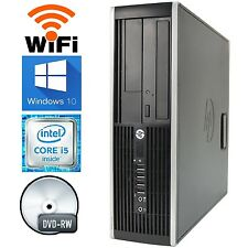 HP Elite 8200 Desktop Windows 10 PRO Computer Intel 3.1GHz Core i5 Quad 8GB WIFI