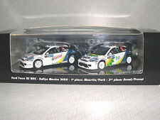 Minichamps Ford Focus RS WRC '04 Mexico Rallye Winner Set  REF.402 048378