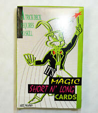 Long And Short Playing Cards Magic Trick Magician Novelty Gift Secret Santa