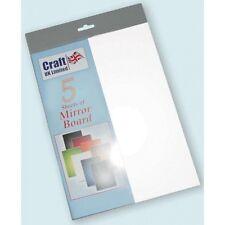 A4 cardstock blätter spiegel mirri bord - weiß Packung Mit 5 Stück