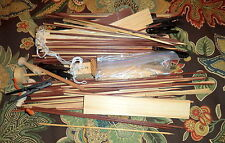 Huge Lot of Assorted Wood Craft Supplies
