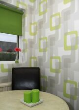 1960's Retro, Grey, Cream & Lime Green, Paste the Wall, Designer Wallpaper