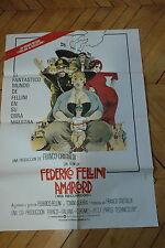 MAGALI NOEL PUPELLA MAGGIO FEDERICO FELLINI AMARCORD 1974 POSTER ORIGINAL