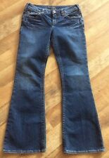 SILVER AIKO BOOT CUT STRETCH JEANS Size 28