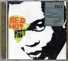RED HOT + RIOT - THE MUSIC AND SPIRIT OF FELA KUTI - CD NUOVO SIGILLATO RARO