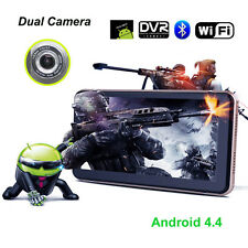 Android 7inch GPS Navigation Dual Camera Car Dvr Record Dash Cam Wifi -US Seller