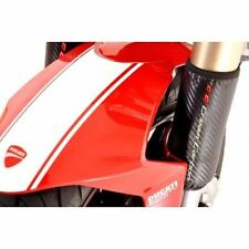 Cream Carbon - USD Fork Protectors - Ducati - all models - 1098 - 1198 - 848