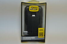 New OEM OtterBox Samsung Galaxy S5 Black Commuter Series Shell Gel Cover Case