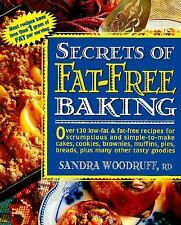 Secrets of Fat-Free Cooking: Secrets of Fat-Free Baking : Over 130 Low-Fat...