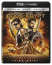 GODS OF EGYPT (4K ULTRA HD)- Blu Ray - Sealed Region free