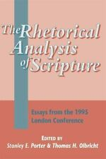 The Library of New Testament Studies: The Rhetorical Analysis of Scripture :...