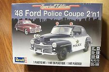 REVELL '48 FORD POLICE COUPE 2'n1 MODEL KIT 1/25 SCALE