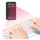New Keyboard Bluetooth Wireless Laser Projection Virtual USB Phone PC Tablet A