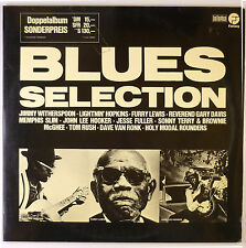 """2 x 12"""" LP - Various - Blues Selection - B2911 - washed & cleaned"""