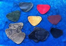 Leather suede eye patches pirate & heart shape black red & more PARTY GIFT