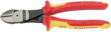 Knipex  VDE Insulated High Leverage Diagonal Side Cutters 200mm 31929