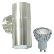 Modern Stainless Steel 10W LED Up & Down Outdoor Wall Light IP65 Energy Saving