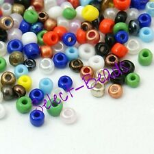 Mixed Multi Colour Glass Seed Beads 2mm Jewellery Making Card Craft 100 Gram