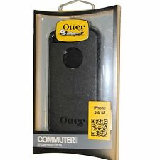OEM Genuine OtterBox COMMUTER Apple Iphone 5 5S Hard Case Shell Black