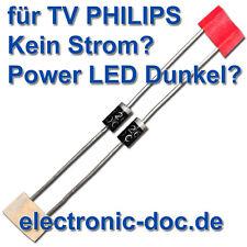 2 x SB260(SR260) diode für Netzteil BOARD LCD-TV PHILIPS 37PFL8404H/12 D907,D911