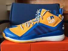 Adidas Dwight D Howard 5 Basketball Shoes 17 Blue Yellow Warriors Curry Nuggets