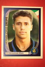 PANINI CHAMPIONS LEAGUE 2007/08 N. 175 CRESPO INTER WITH BLACK BACK MINT!!