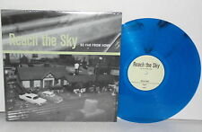 REACH THE SKY So Far From Home LP Blue Vinyl Boston Bane Hardcore Pop Punk