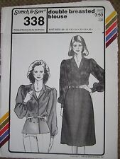 Ann Person Collectibles - Double Breasted Blouse 338 (Pattern Only)