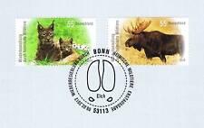 BRD 2012: Luchs und Elch Nr 2913+2914 mit Bonner Ersttagssonderstempel! 1A! 1610