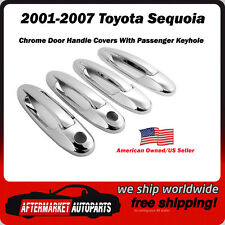 2001-2007 Toyota Sequoia Chrome Door Handle Trim Covers USA Seller/Shipper