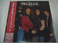 BLACKFOOT-Siogo JAPAN 1st.Press w/OBI Uriah Heep Ken Hensley AC/DC Iron Maiden