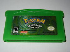 ***POKEMON LEAF GREEN GAMEBOY ADVANCE GAME GBA AUTHENTIC SAVES!!***
