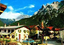"""Mittenwald Im """"Gries"""" gegen Karwendel , Ansichtskarte , gelaufen"""