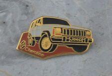 Pin's Jeep Cherokee, fin des années 1980-début des années 1990