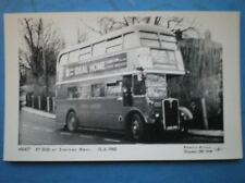 POSTCARD RP LONDON TRANSPORT RT 2350 BUS AT STAINES WEST 13/3/65