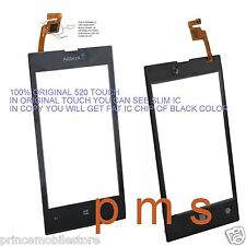 100% original without frame nokia lumia 520 touch Glass Screen Digitizer