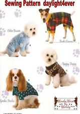 Dog Pet Coat Clothes Sweater Sewing Pattern 3939  j Simplicity New Size S-M-L