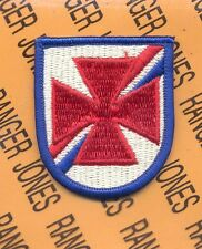 US Army School of the America's SOA Airborne beret flash patch