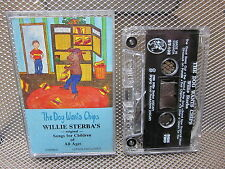 DOG WANTS CHIPS Willie Sterba cassette-tape 1988 kids Magic Bridge