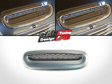 Chrome Front Hood Scoop Vent Cover Overlay for 2001-2006 MINI COOPER S R52 R53